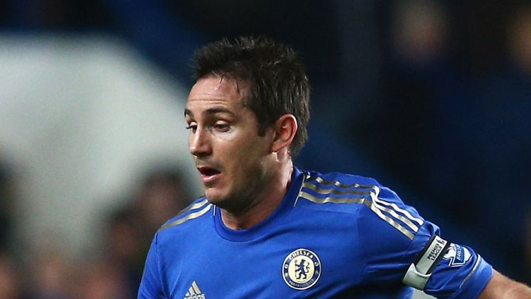 Frank Lampard: Thought to be surplus to requirements at Chelsea