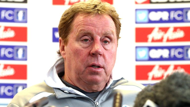 Harry Redknapp: Furious with his side's defeat to MK Dons