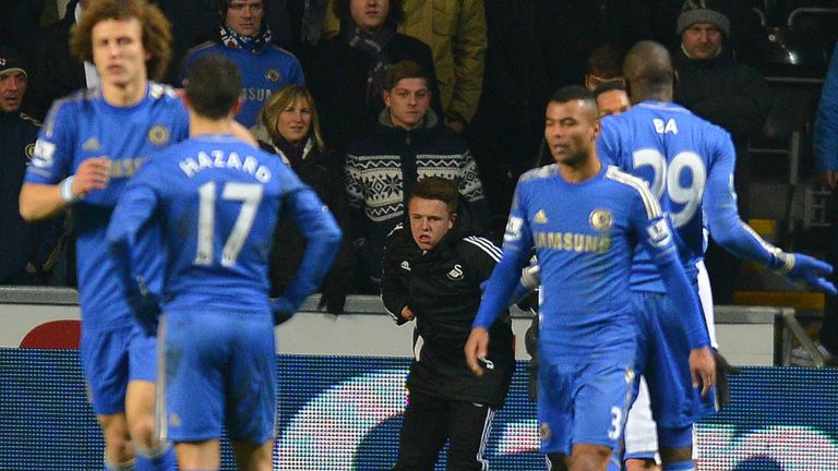 Eden Hazard: Chelsea midfielder after clash with ballboy at Swansea