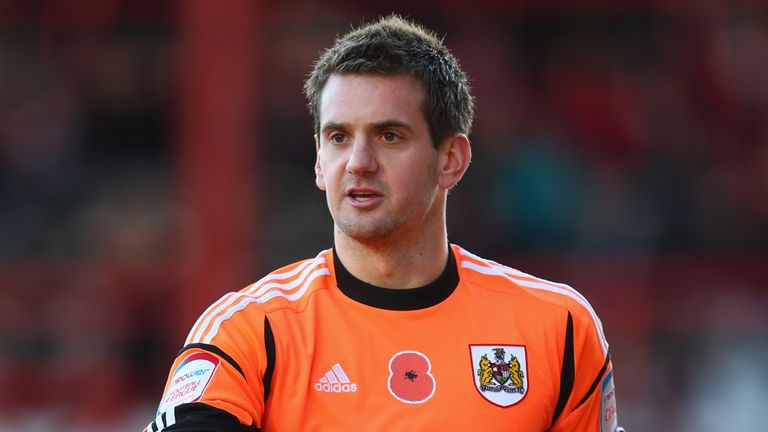 Tom Heaton: Might stay at Bristol City