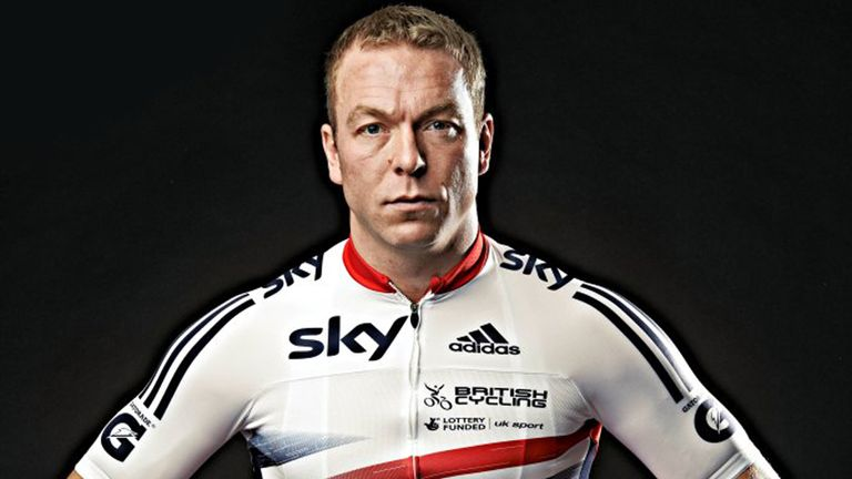 Sir Chris Hoy: Modelled the new British Cycling kit