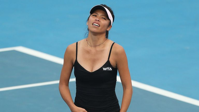 Hsieh Su-wei: Was dumped out in the opening round in Hobart
