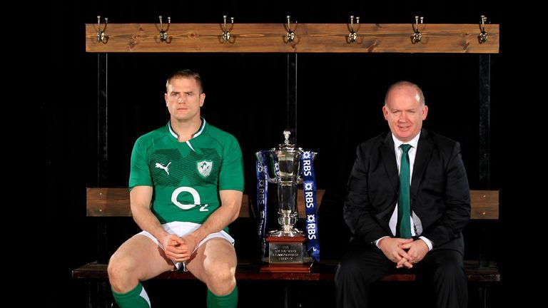 Jamie Heaslip: Handed Ireland captaincy by Declan Kidney