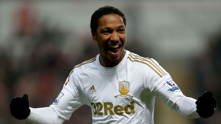 Jonathan de Guzman: Linked up with Swansea on a season-long loan last summer