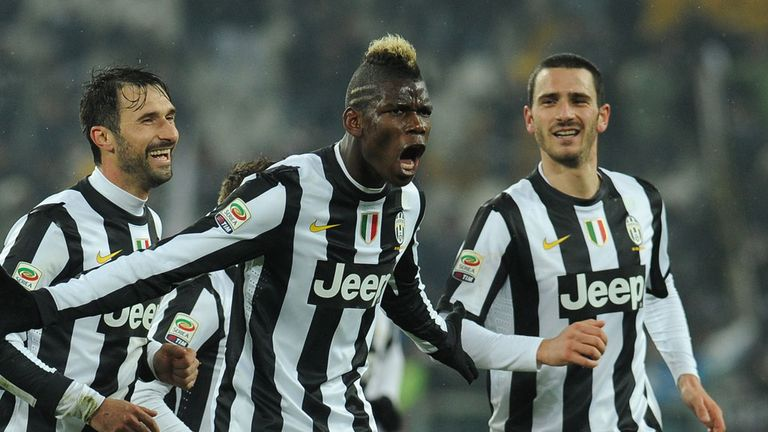 Paul Pogba: Won the league title in his first season in Italy