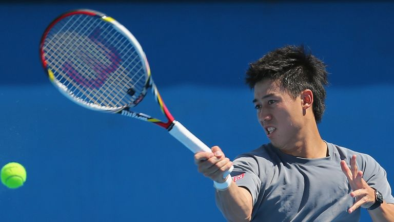 Kei Nishikori: Progressed to the semi-finals in Memphis