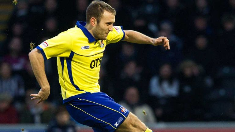Liam Kelly: Scored six goals in his last nine games for Kilmarnock