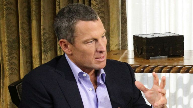Lance Armstrong: Confessed to doping in interview with Oprah Winfrey