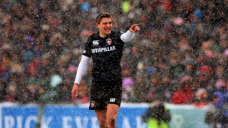 Toby Flood: One of three back for Leicester Tigers