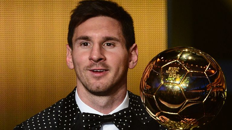 Lionel Messi: Expected to land the award for the fifth time in a row