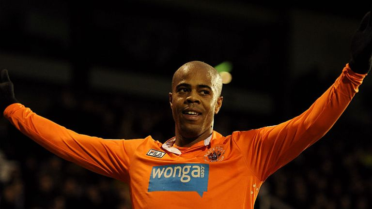Ludovic Sylvestre: Late winner for Blackpool