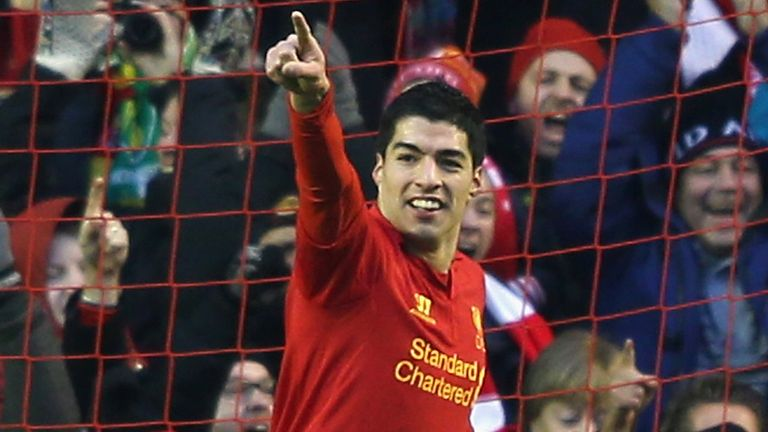 Luis Suarez: The Liverpool striker insists he is happy on Merseyside