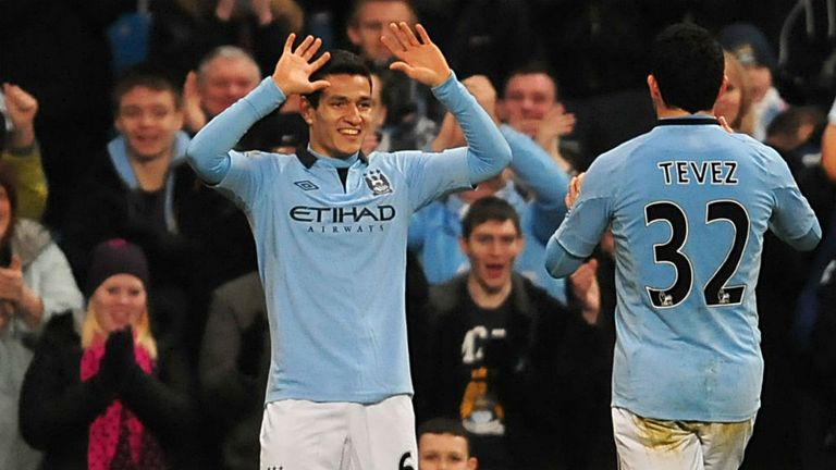 Marcos Lopes: Scored on his Manchester City debut