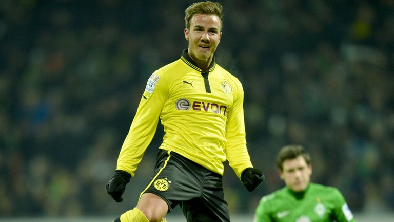 Mario Gotze: Joining Bayern Munich in a £32m deal