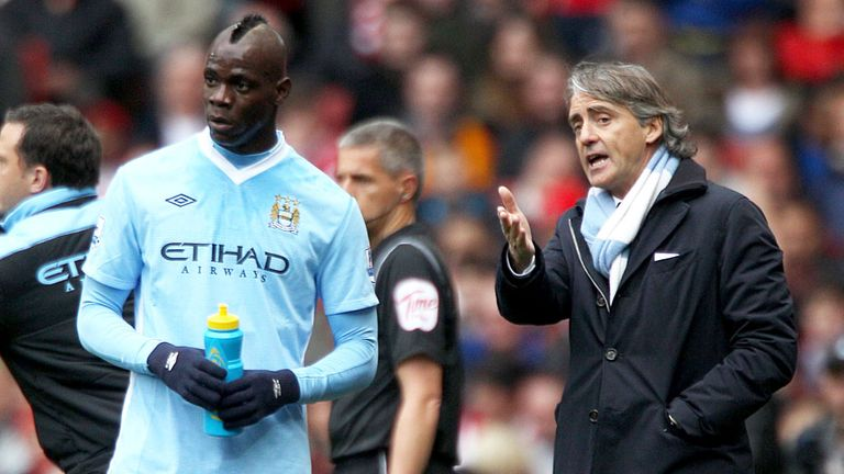 Roberto Mancini: So sad to see Mario Balotelli go