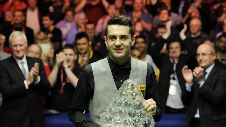 Selby: he's won the UK and the Masters - now he can target the Worlds