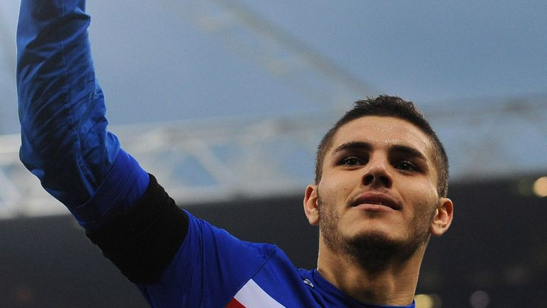 Mauro Icardi: Sampdoria are hoping to see him sign a new contract