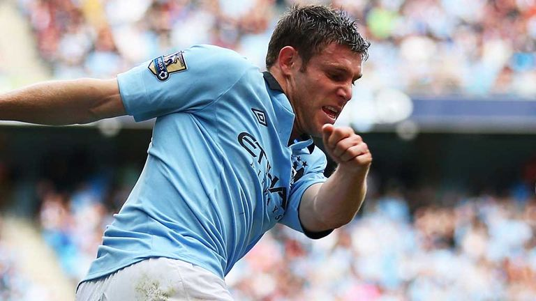 James Milner: Relishing the prospect of facing Stoke in the FA Cup