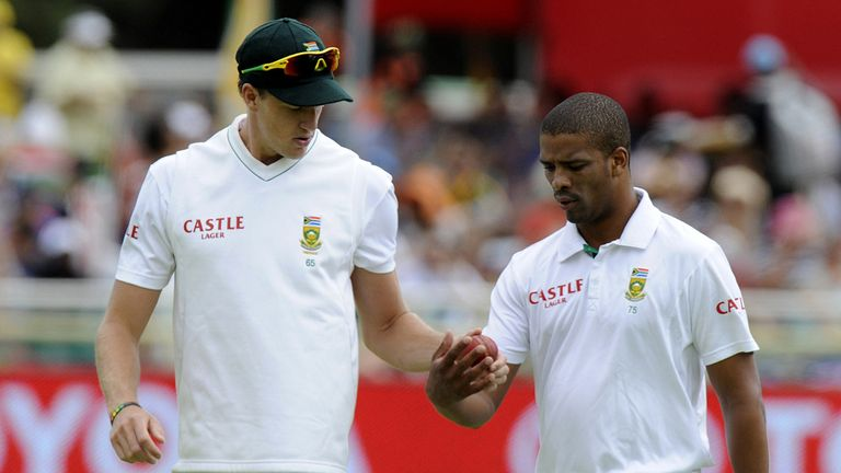 South Africa bowler Morkel and Philander discussed their strategies...