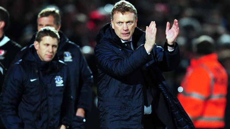 David Moyes: Everton boss shocked by dismissal of Southampton boss Nigel Adkins