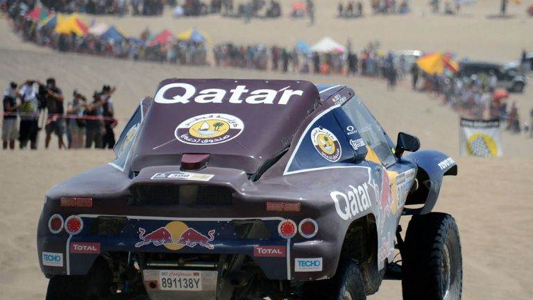 Nasser Al-Attiyah: Won second successive stage in Dakar Rally