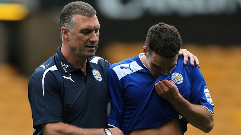 Matty James (right): Praised Nigel Pearson's motivational skills