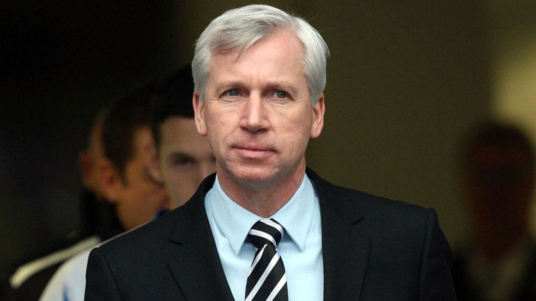 Alan Pardew: Watched Newcastle go down 2-0 to Brighton in the FA Cup