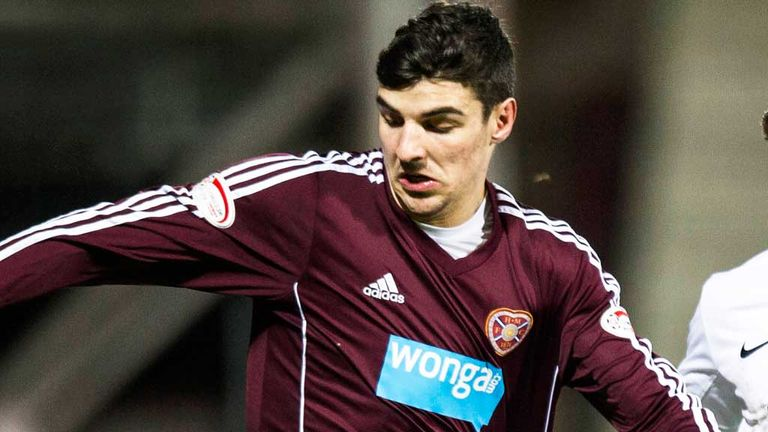 Callum Paterson: Hearts teenager to miss semi-final showdown