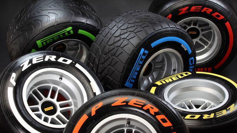 The 2013 Pirellis