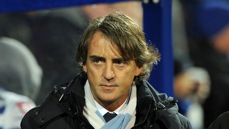Roberto Mancini: Manchester City manager sends two of his youngsters to get experience in Denmark