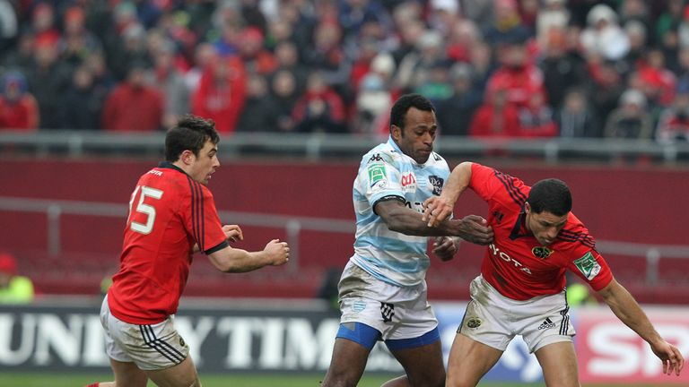 Match action from Munster's win over Racing Metro