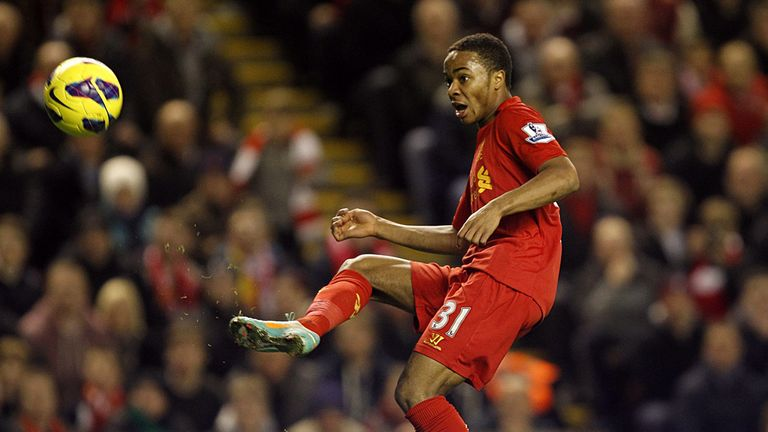 Raheem Sterling: Top four has to be the aim for Liverpool