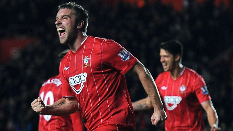 Rickie Lambert: Has earned praise from manager Pochettino