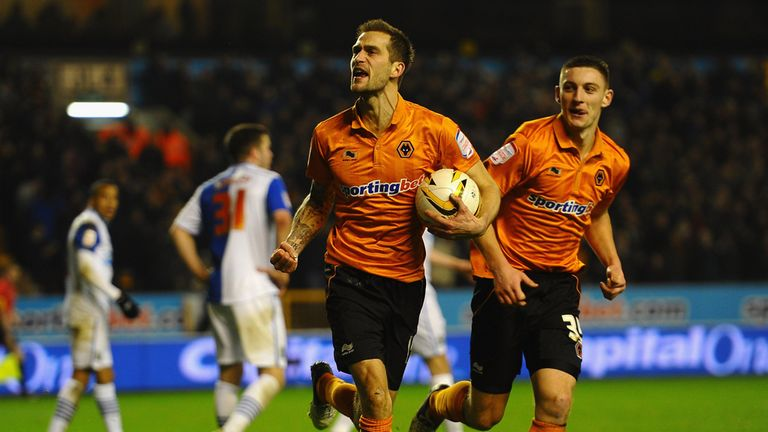 Roger Johnson: Equalises for Wolves at Molineux
