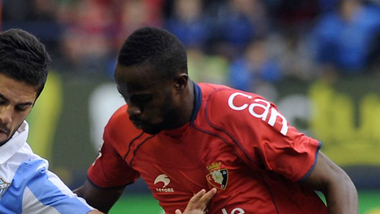 Roland Lamah: Osasuna winger has joined Swansea on 18-month loan
