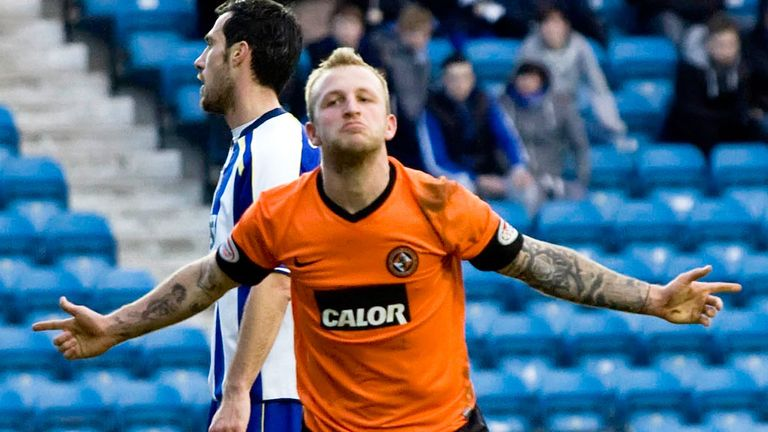 Johnny Russell: Scored 20 goals in 38 appearances for Dundee United last season