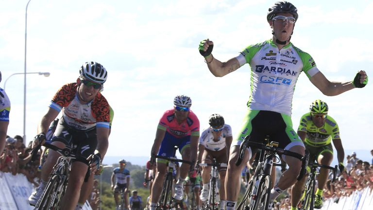 Sacha Modolo: Stunned Mark Cavendish