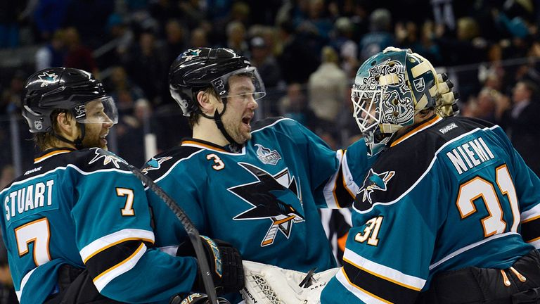 San Jose Sharks: Seven wins in a row