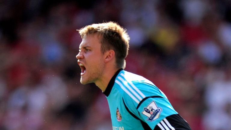 Simon Mignolet: Belgian keeper compared favourably to Peter Shilton and Pat Jennings