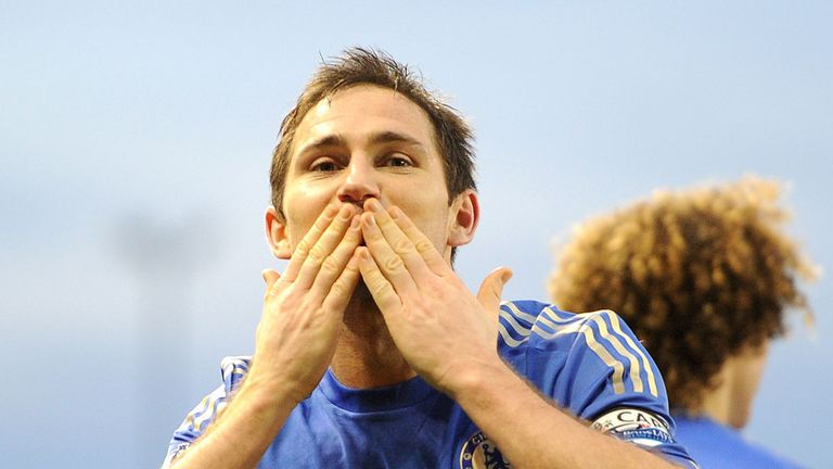 Frank Lampard: The Chelsea veteran has the best minutes-per-goal ratio of any midfielder in the Premier League