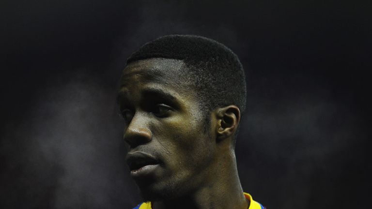 Wilfried Zaha: Needs more protection from referees, according to Holloway