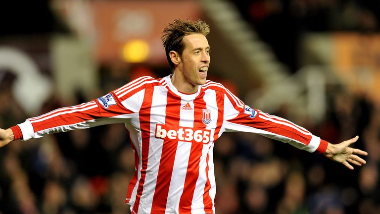 Peter Crouch: Convinced that Tony Pulis can continue to take Stoke forward