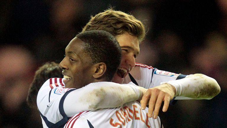 Marvin Sordell: Spot on for Bolton