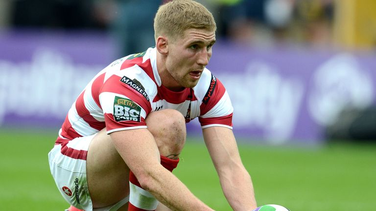 Sam Tomkins: determined to help Wigan make it through to a final this season