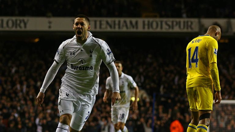Clint Dempsey: Scored a brace to help Spurs past Coventry