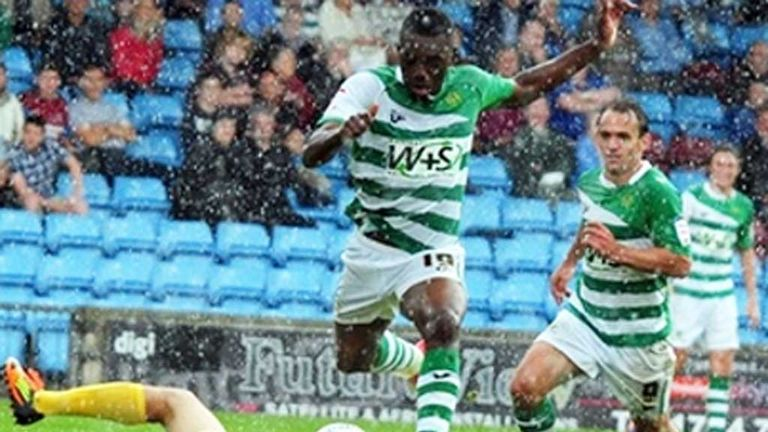 Gozie Ugwu: In action for Yeovil