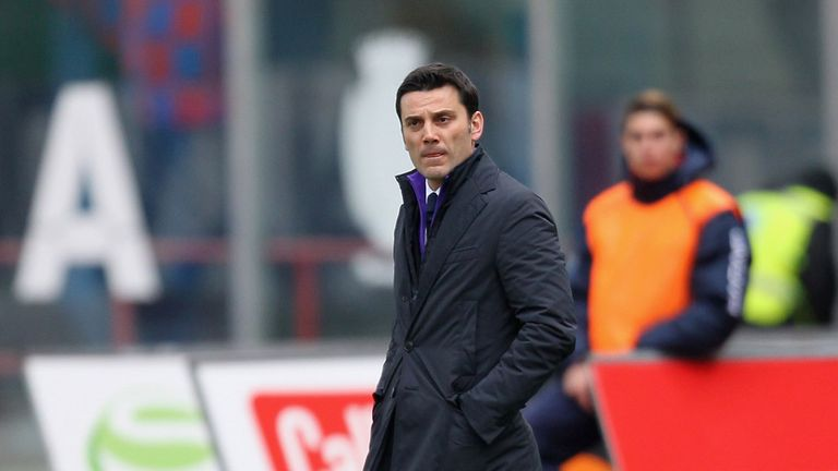 Montella: No happy return with Fiorentina