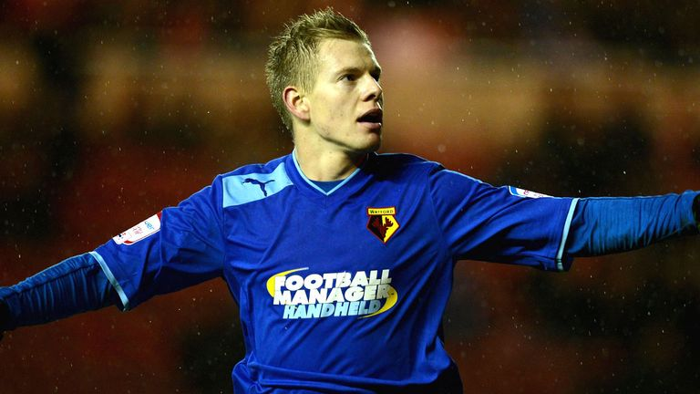 Matej Vydra: At the double for Watford