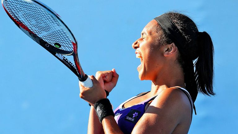 Heather Watson: Claimed a memorable win over Ksenia Pervak