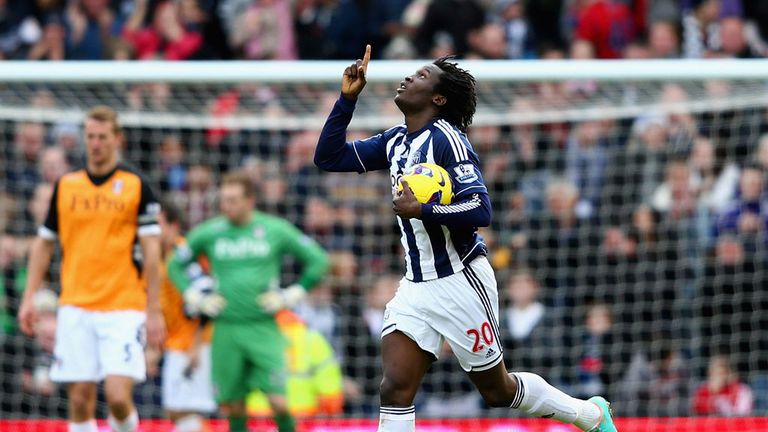 Romelu Lukaku: On-loan striker has impressed for West Brom since joining from Chelsea